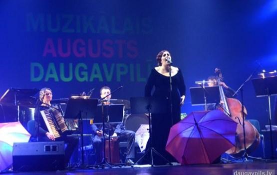 """Daugavpili turpina ieskandināt festivāls """"Muzikālais augusts 2016"""""""