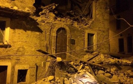 Itālijas vidienē notikušajā zemestrīcē desmit bojāgājušie
