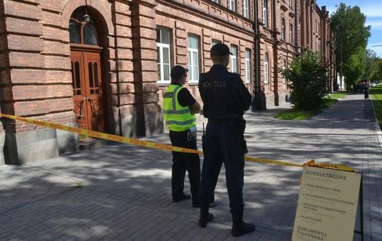 Spridzināšanas draudi Daugavpilī