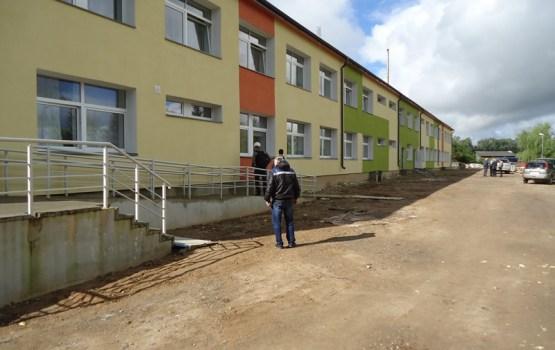 Notiek Višķu sociālās aprūpes centra atjaunošanas darbi