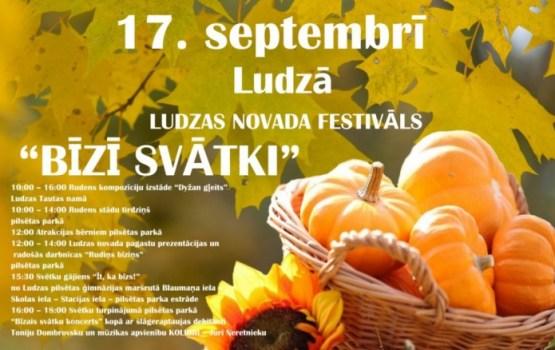"""Aicina uz Ludzas novada festivālu """"Bīzī svātki"""""""