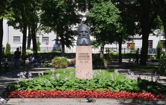 Notika A.Pumpura 175.gadadienas atceres pasākumi