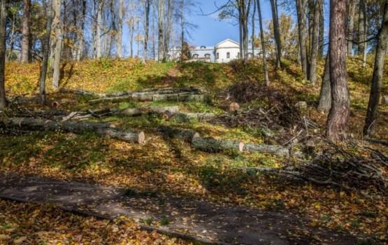 Krāslavā turpinās parka rekonstrukcija