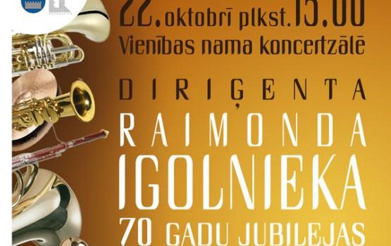 Diriģenta Raimonda Igolnieka 70 gadu jubilejas koncerts
