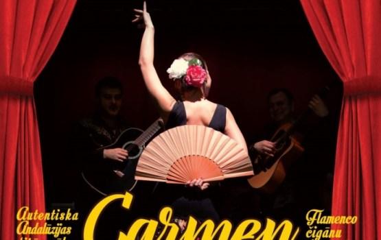 """Starptautisks flamenko koncertuzvedums """"KARMENA"""" – arī Ludzā!"""