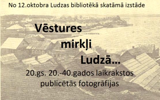 Vēsturisko publikāciju izstāde Ludzas bibliotēkā