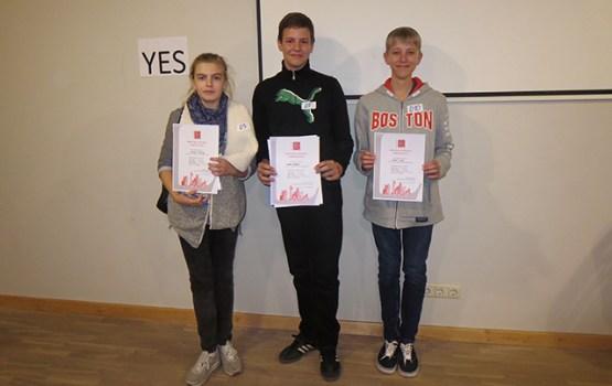 12.vidusskolas skolēniem izcili panākumi Ņūtona turnīrā!
