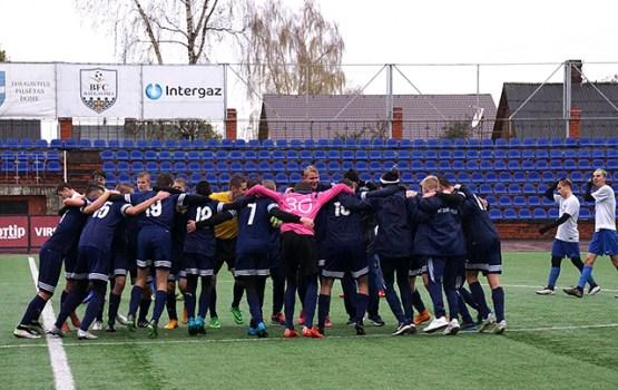 U15 grupas futbolisti kļūst par valsts čempioniem