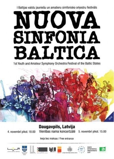 NUOVA SINFONIA BALTICA 2016 Daugavpilī
