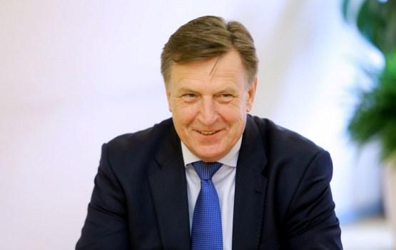 Kučinskis sarunā ar Ukrainas premjera vietnieci apliecina atbalstu valsts suverenitātei un teritoriālai integritātei