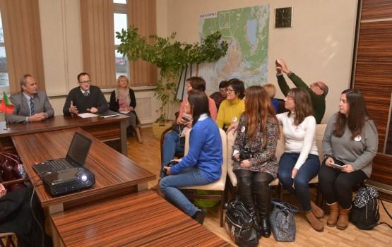 Daugavpilī uzturas Portugāles izglītības darbinieku delegācija