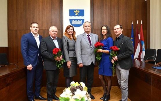 Daugavpils Domē sveica sporta veterānus