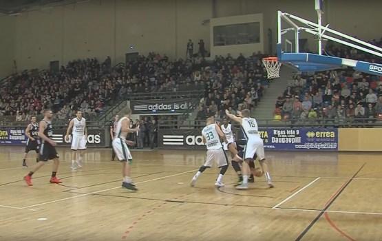 Basketbola komanda VEF Rīga atkal viesojās Daugavpilī