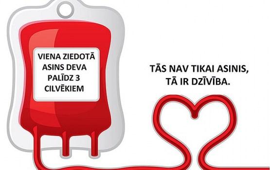 Ziedo asinis Daugavpils pilsētas domē!