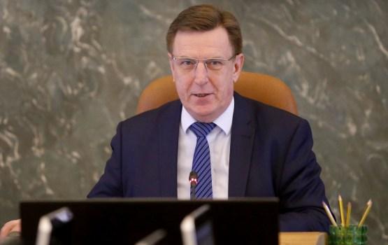 """Kučinskis: Sekmīgi īstenots """"Rail Baltica"""" projekts ir visu trīs Baltijas valstu stratēģiska interese"""
