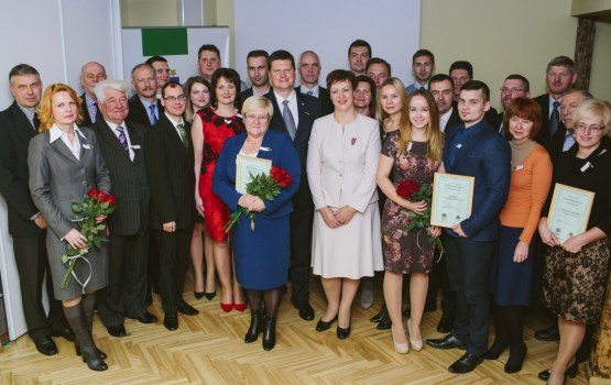 """Daugavpils pašvaldība saņēma """"Zaļās izcilības balvu"""""""