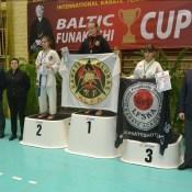 Karatē: Baltic Funakoshi Cup 2016