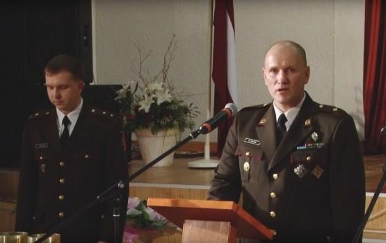 Zemessardzes 34. artilērijas bataljons nosvinēja 25. gadadienu