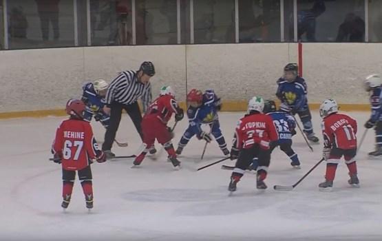 Ledus hallē tika aizvadīts Ziemassvētku hokeja turnīrs un daiļslidošanas ledus šovs
