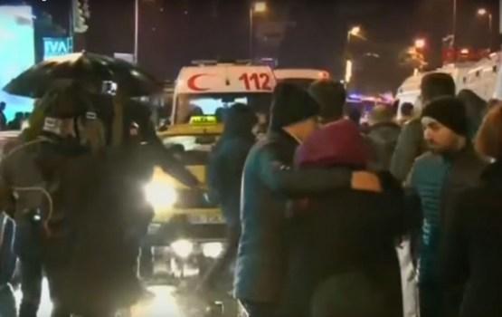 Mediji: Saistībā ar uzbrukumu naktsklubam Stambulas policija aiztur astoņas personas