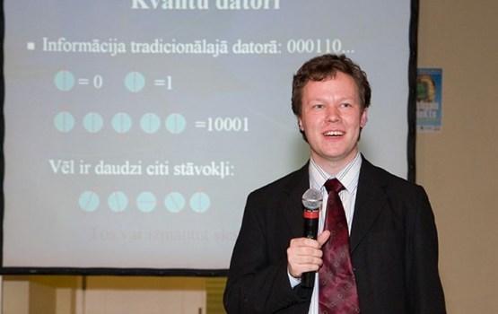 """Titulu """"Eiropas cilvēks Latvijā"""" ieguvis kvantu fiziķis, matemātiķis daugavpilietis Andris Ambainis"""