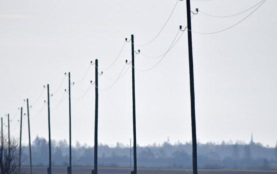 Lielajā salā Latgalē konstatēti avārijas atslēgumi elektrotīklā