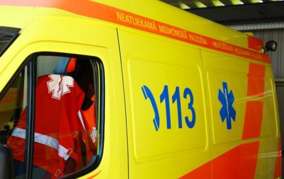 Vairākiem salā cietušajiem nepieciešama mediķu palīdzība