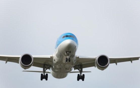 Lidostā «Rīga» pirmo reizi apkalpots gaisa kuģis «Boeing 787 Dreamliner»