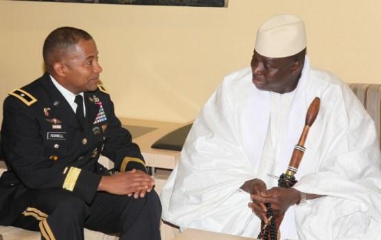 Gambijas prezidents atsakās pamest amatu