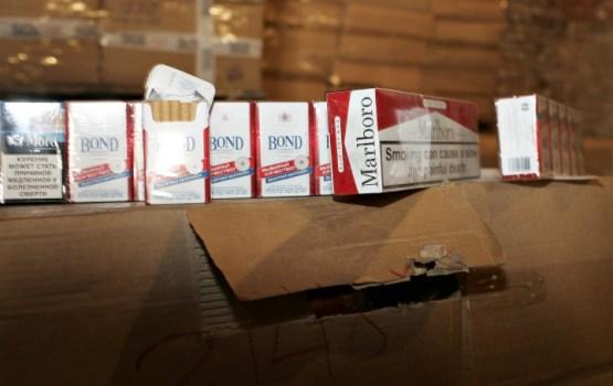 Akmeņogļu kravās atklāj 100 tūkstošus kontrabandas cigarešu
