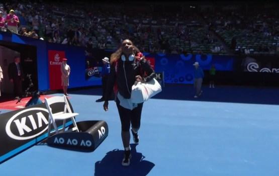 Serēna Viljamsa un Lučiča-Baroni iekļūst 'Australian Open' pusfinālā