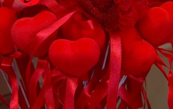 Valentīna dienas noskaņas Daugavpilī