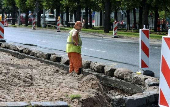 Sākušies autoceļa Grebņeva-Rēzekne-Daugavpils-Medumi remontdarbi