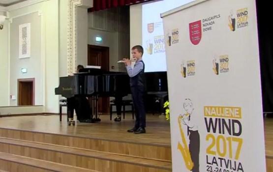 """Konkursā """"Naujene WIND 2017"""" piedalījās 150 dalībnieki"""