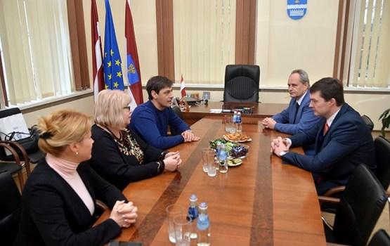 Moldovas delegācija interesējās par pašvaldības uzņēmumu darbu
