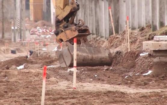 Tiek veikti būvniecības darbi Čerepovas rūpnieciskajā zonā