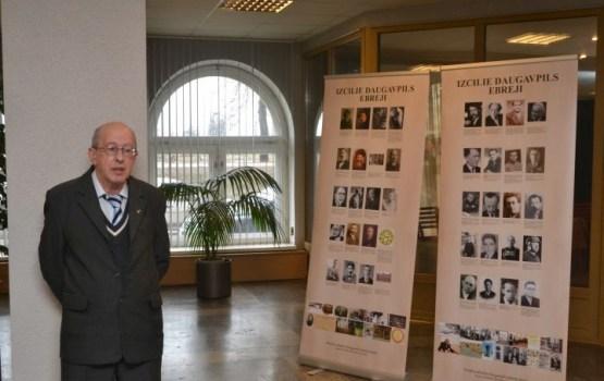 """Pateicoties Daugavpils Domes atbalstam tapusi jauna ekspozīcija """"Izcilie Daugavpils ebreji"""""""