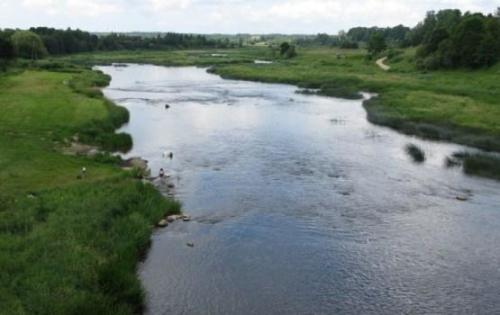 Ūdens temperatūra Kurzemes un Zemgales upēs pakāpusies līdz +8 grādiem