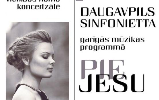 """Daugavpils sinfonietta garīgās mūzikas programmā """"PIE JESU"""""""