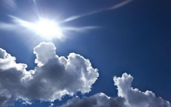 Pirmdienas pēcpusdienā plosīsies vējš un gaisa temperatūra pakāpsies līdz +18 grādiem