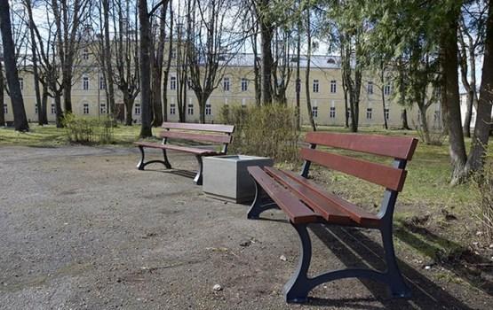 Labiekārtošanas darbi Daugavpils cietokšņa dārzā