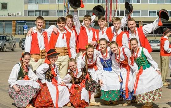 """VIII Starptautisks festivāls """"Poļu folklora Latgalē"""" Daugavpilī"""