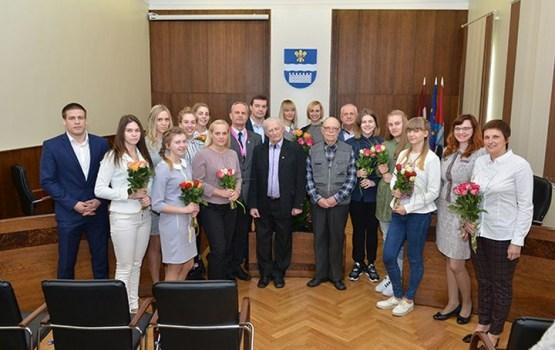 Domē sveica Daugavpils basketbolistes- Latvijas čempiones
