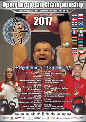 Atklātais Eiropas Čempionāts svarbumbu celšanā