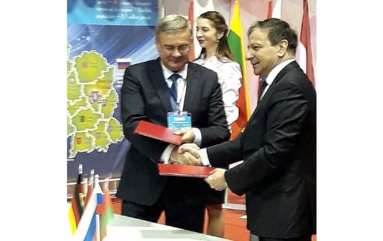 Atjaunots sadarbības līgums ar Daugavpils sadraudzības pilsētu Vitebsku