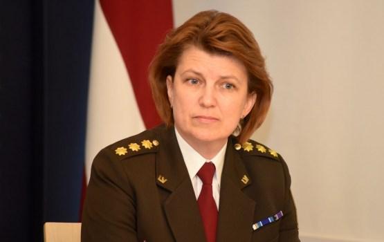 IeVP vadītāja Spure kļūs par otro sievieti Latvijā, kurai tiks piešķirta ģenerāļa dienesta pakāpe