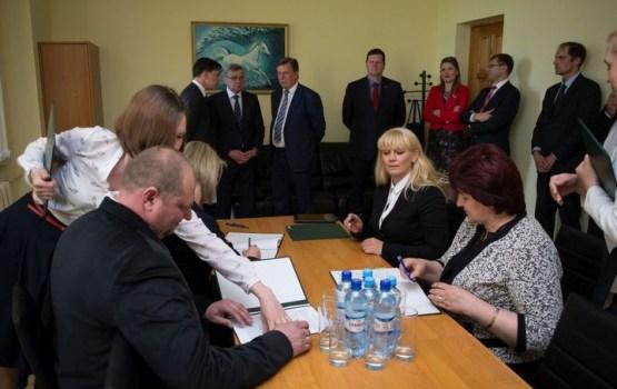 Daugavpilī pēc Ministru kabineta sēdes paraksta līgumus par ieguldījumu veikšanu Latgales SEZ teritorijās