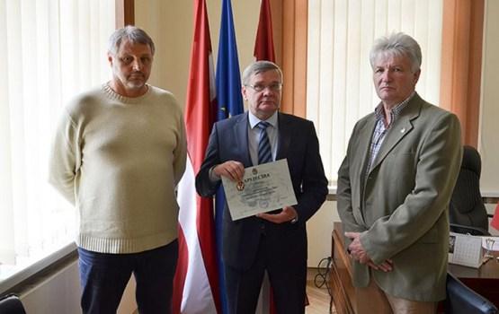 Karavīri-afgāņi pateicās Daugavpils pašvaldībai par atbalstu