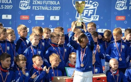 Daugavpils ieņem trešo vietu Zēnu futbola festivālā