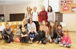 """Skolēnu parlaments organizēja labdarības akciju """"SAULES STARIŅŠ"""""""